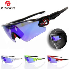 X-TIGER Brand Polarized Cycling SunGlasses Mountain Racing Bike Goggles MTB Bicycle Eyewear Ciclismo Cycling Glasses 2017 New