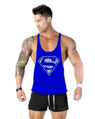 Fitness Spring 2017 cotton shark tank top men Sleeveless tops for boys bodybuilding clothing  undershirt wholesale vest gyms