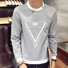 2017 spring Autumn Fashion solid New casual Male Streetwear long sleeve Hoodies Men pullover  Sweatshirts plus size 3XL 4XL