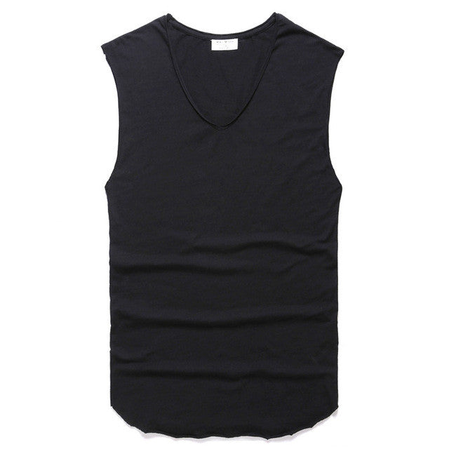 New Tank Top Men Undershirt Brand High Quality Men's Vest Casual Clothing Singlets Men's Sleeveless 2016 Summer