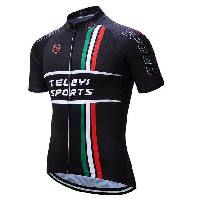 TELEYI 2017 Team Pro Cycling Jersey 100% Polyester Breathable Summer Mtb Bicycle Clothing Ropa Maillot Ciclismo Bike Clothes