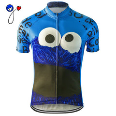 NEW men 2017 cycling jersey ride bike eat Cookie riding pro racing team wear clothing ropa ciclismo maillot ciclismo nowgonow