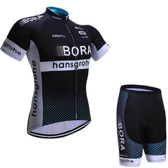 2017 Summer New Pro Team Short sleeves Breathable Cycling Clothing MTB bike jerseys Ropa Ciclismo Bora Cycling jerseys Polyester