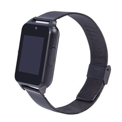 Z60 Bluetooth Smart Watch Camera Call SMS Remind support SIM TF Card Stainless Steel Wristwatch for iOS and Android
