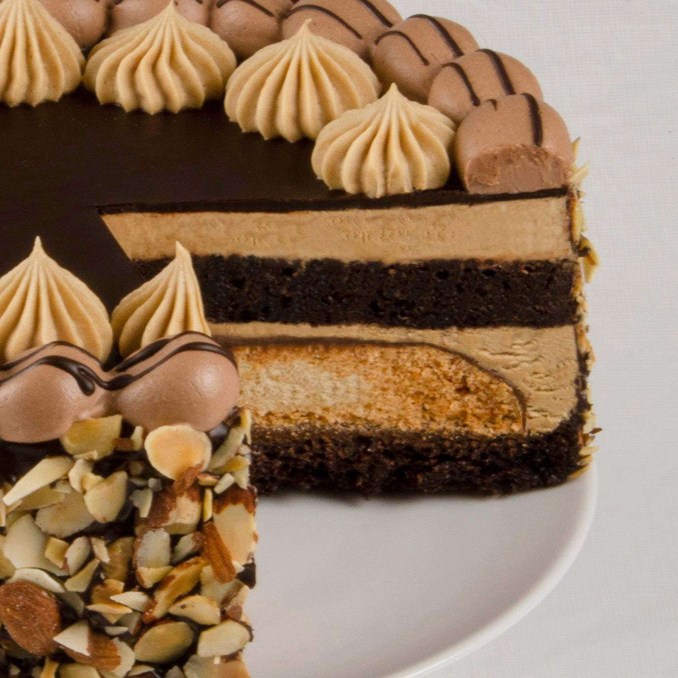 Jamocha Almond Fudge Cake