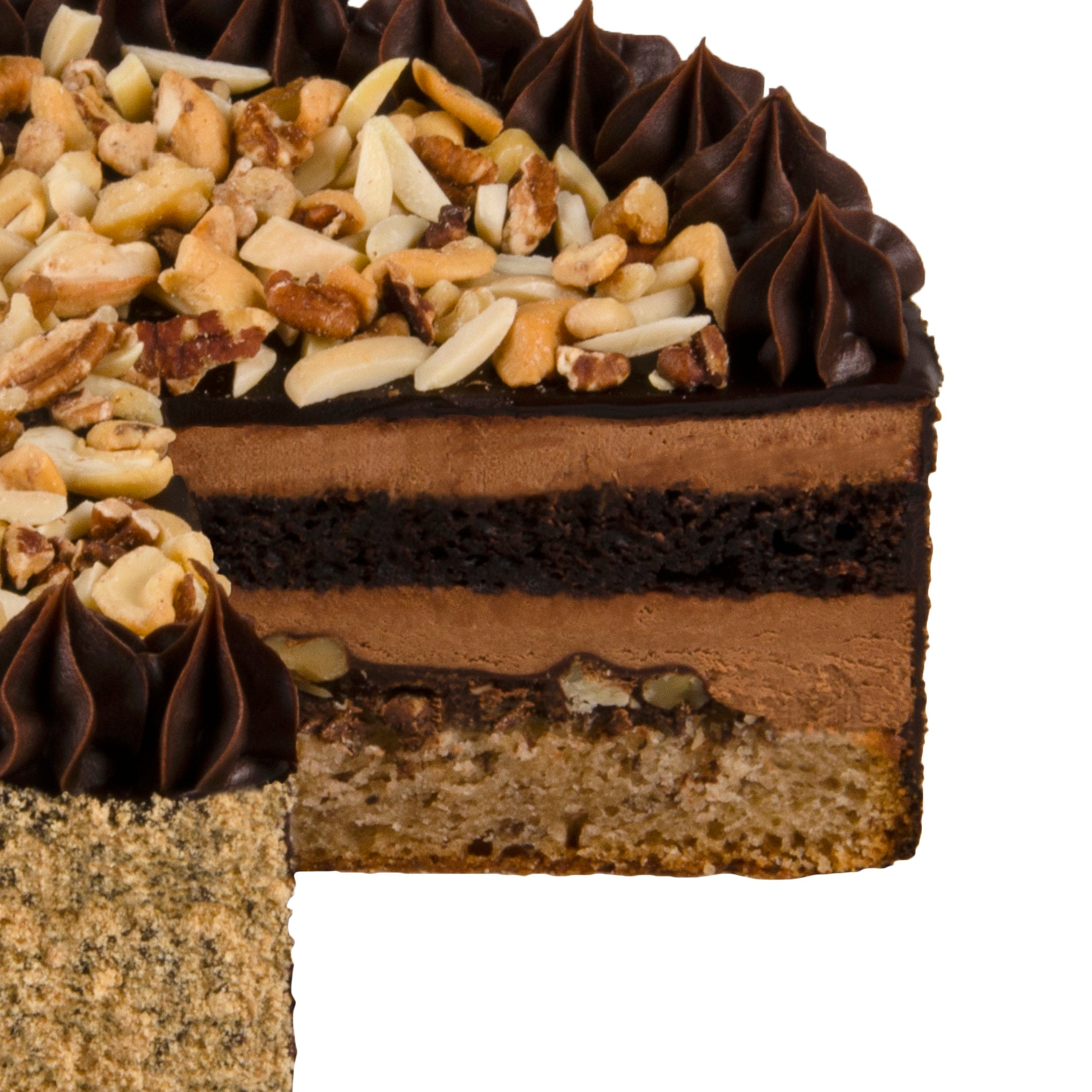 Nutty Chocolate Crunch Cake NEW!