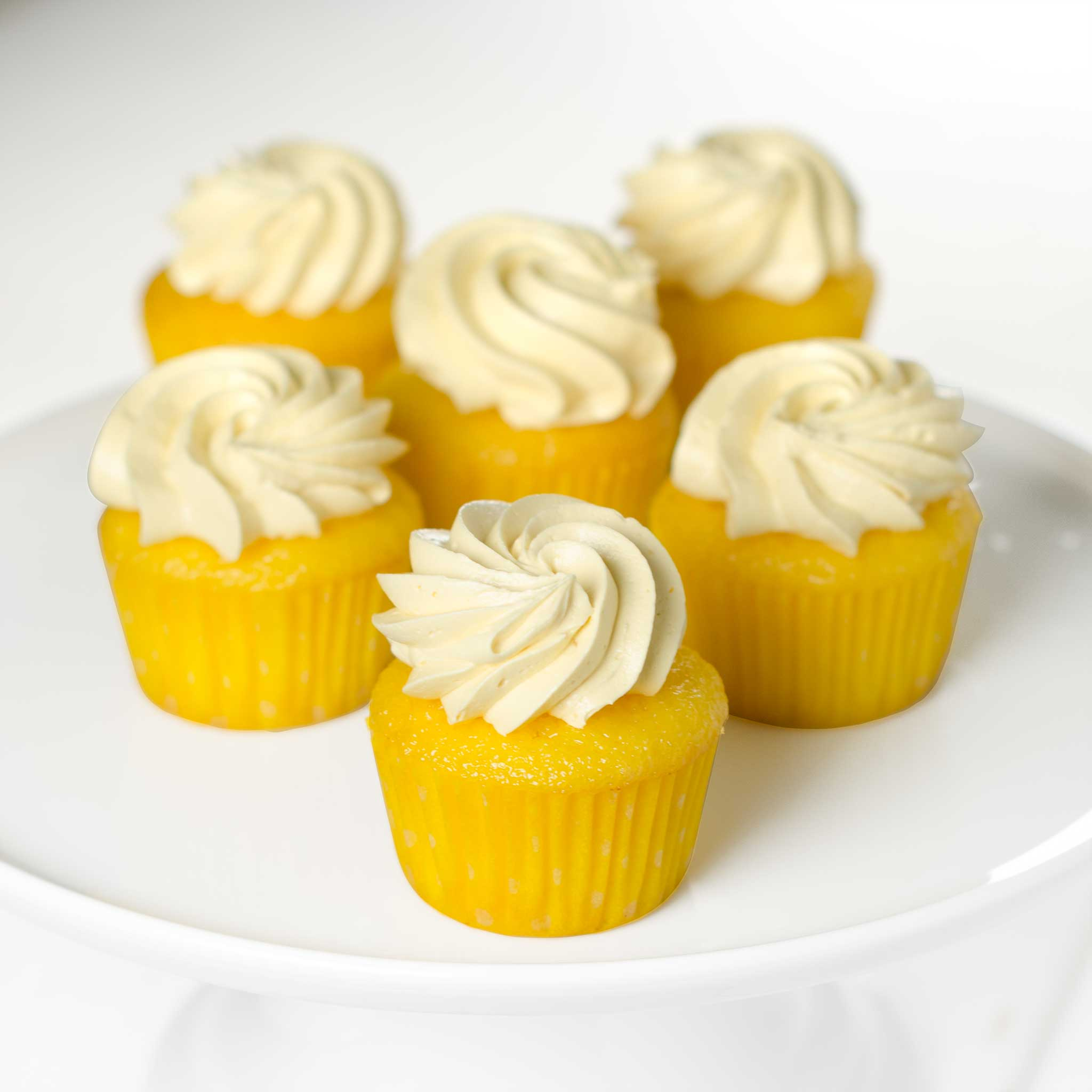 La Rocca Lemon Dream Cupcakes - Six Pack