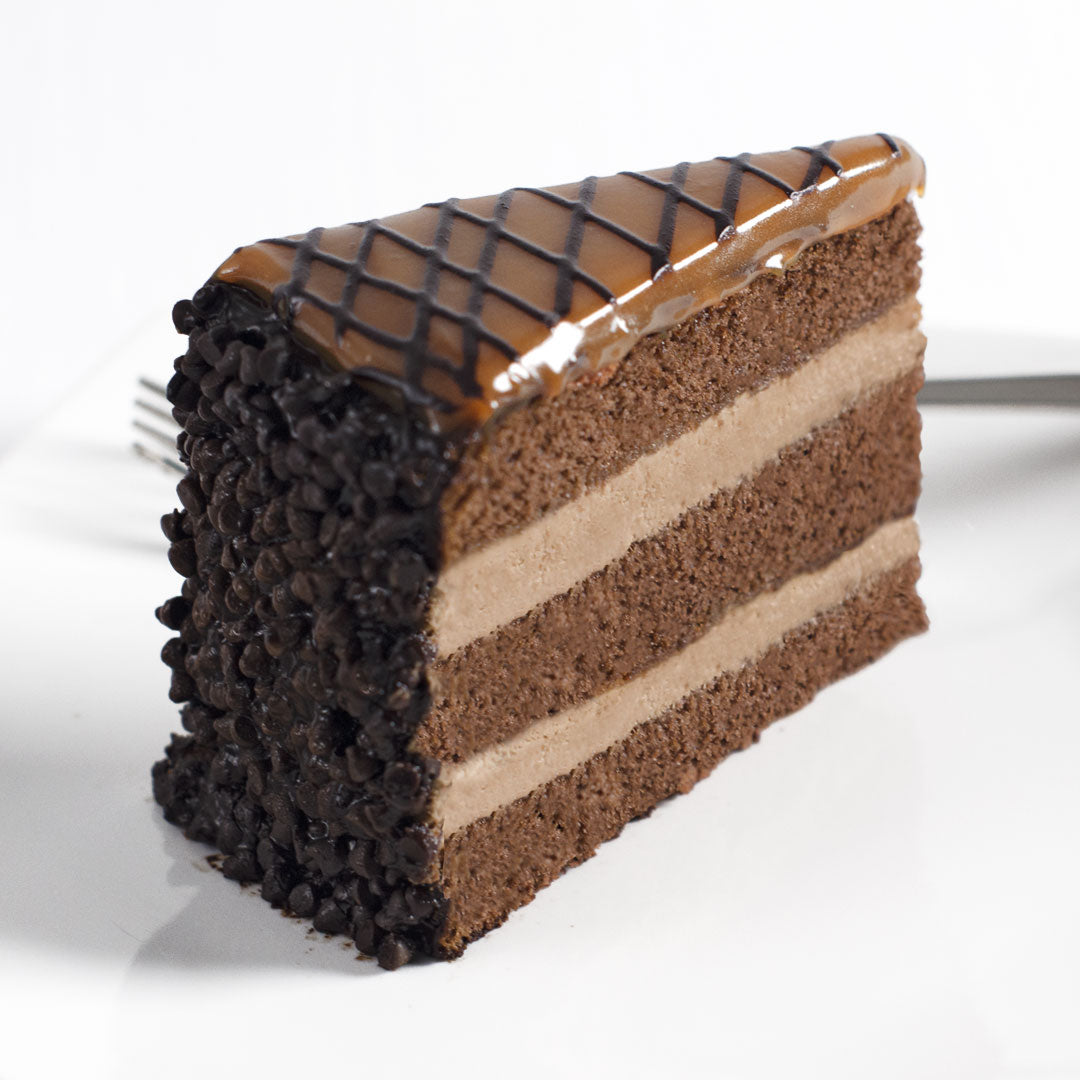 Milk Chocolate Caramel Cake