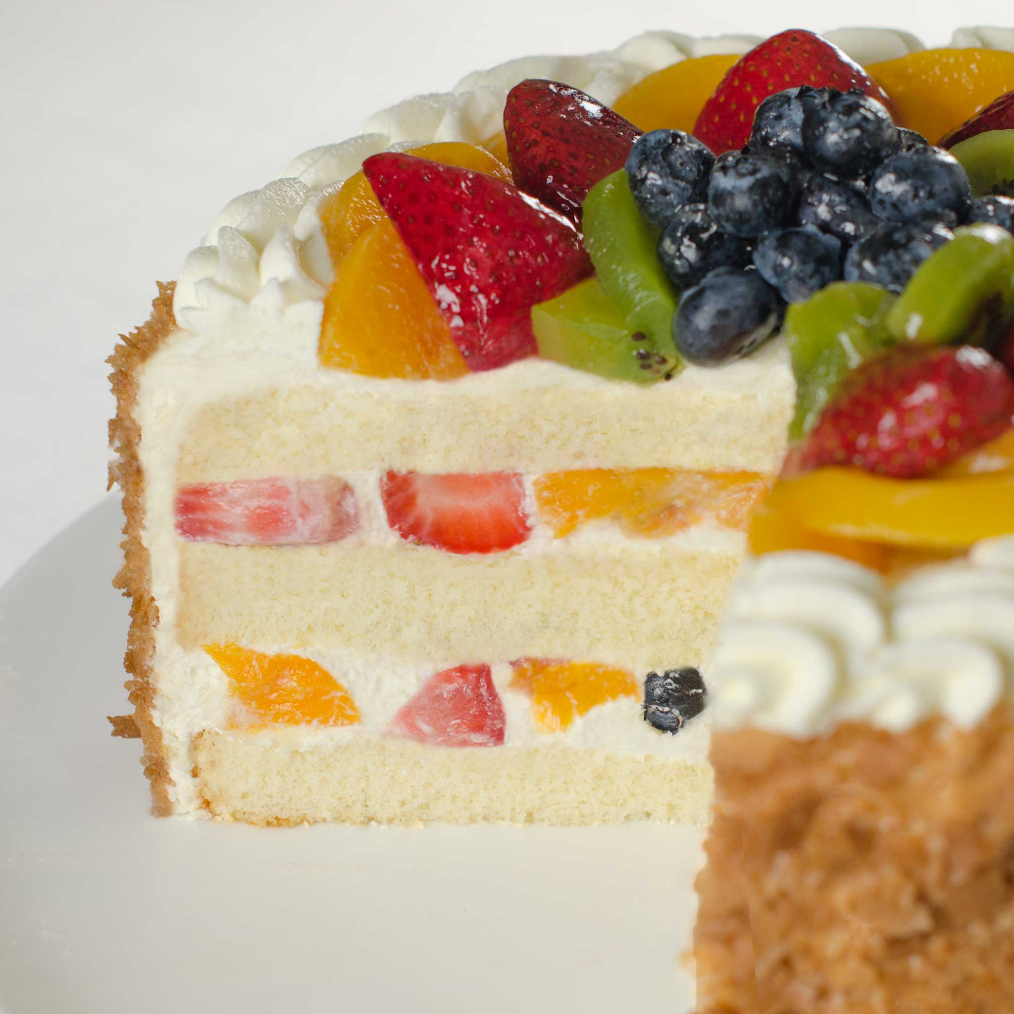 La Rocca Mixed Fruit Torte - Detail