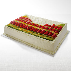 La Rocca Mixed Fruit Torte Celebration Cake