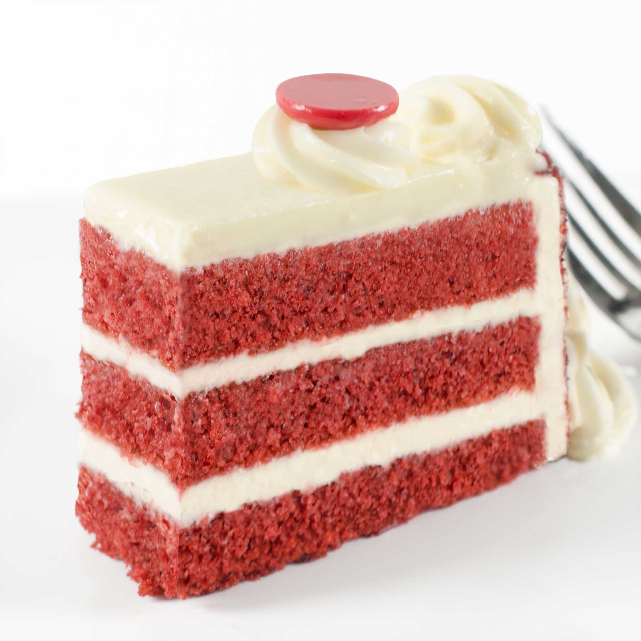 La Rocca Red Velvet Celebration Cake - Slice