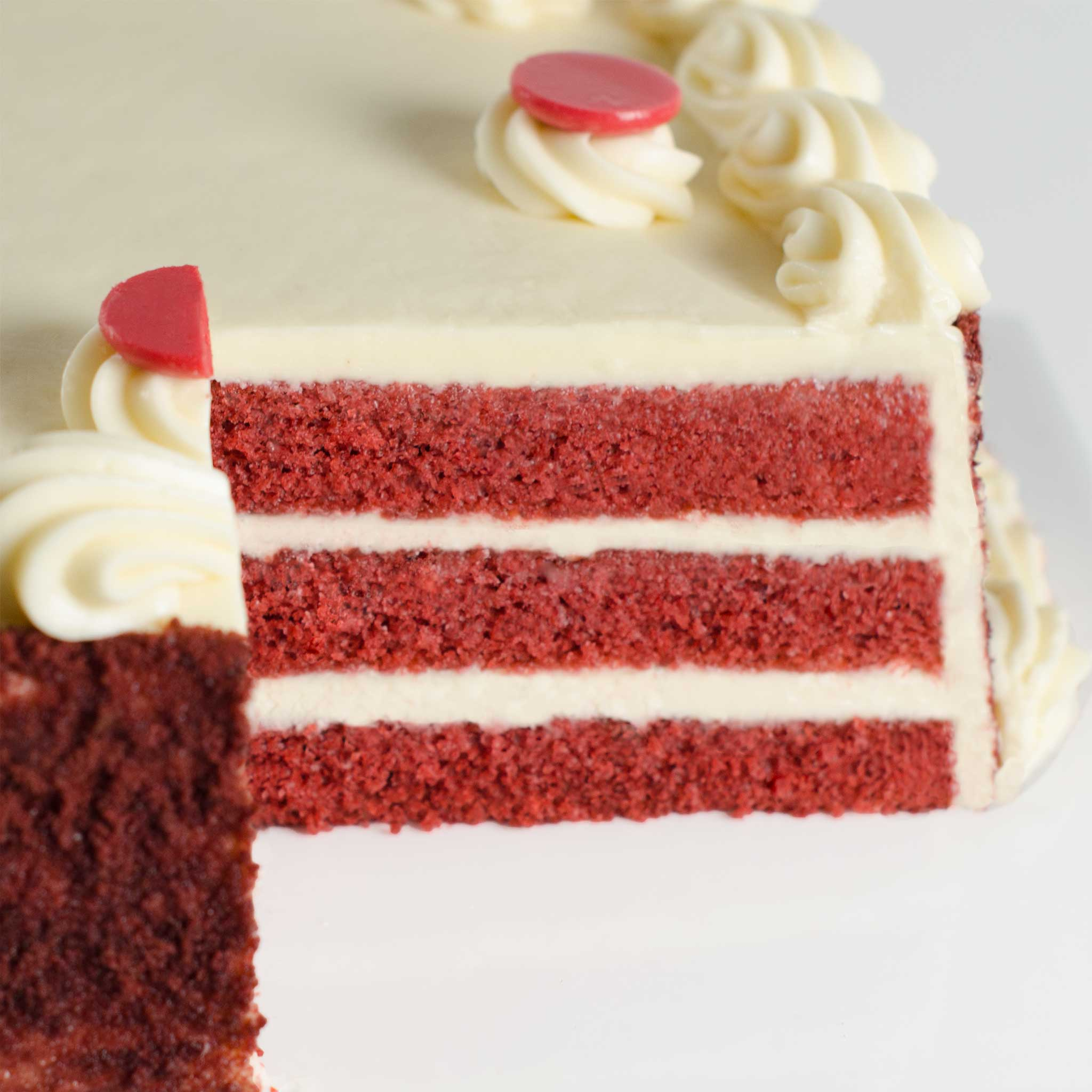 La Rocca Red Velvet Celebration Cake - Detail