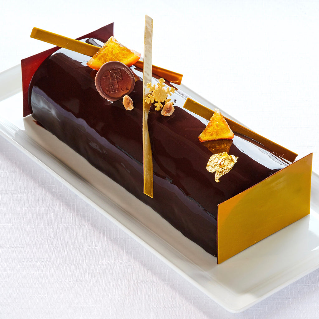 Chocolate Orange Log