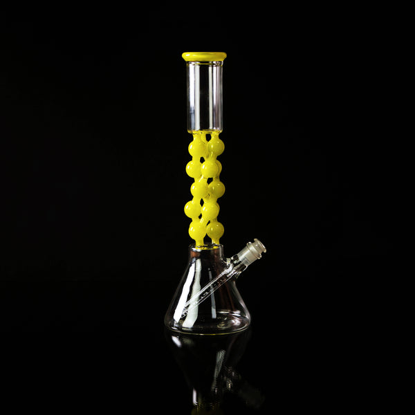 Helix Compound Beaker - Yellow