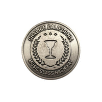 Crest Pin - Pewter