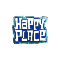Happy Place Logo Pin