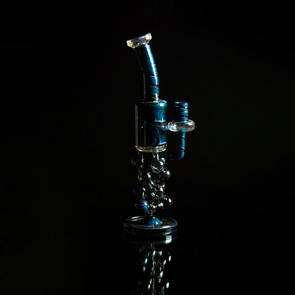 Line Worked Helix Compound Bubbler