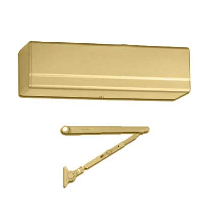 Sargent 1431-UH-EAB Powerglide Door Closer Universal Hold Open Brass Enamel