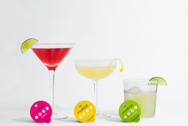 3 flavor cocktail mixer
