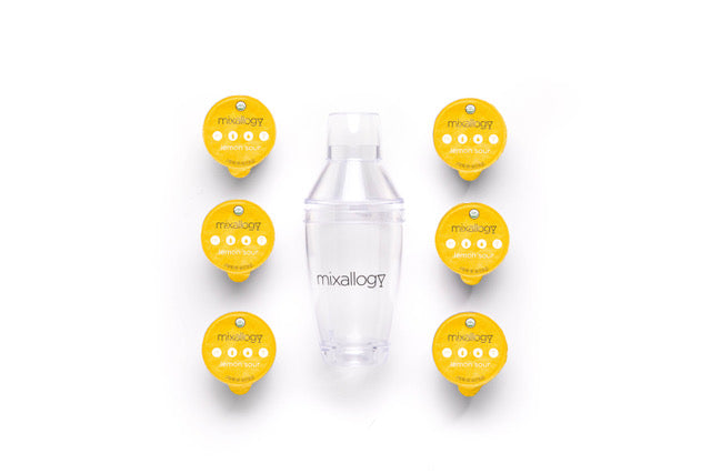 lemon sour shaker set