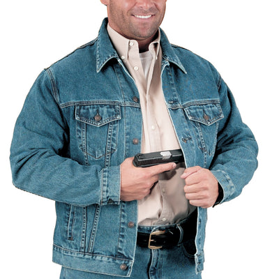 Concealed Carry Jean Jacket
