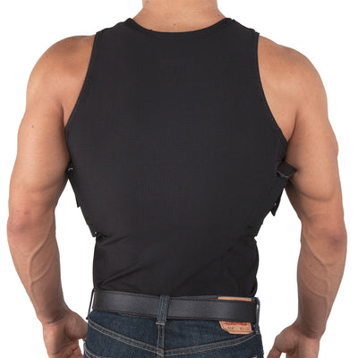 Mens Concealed Carry Coolux Mesh Tank