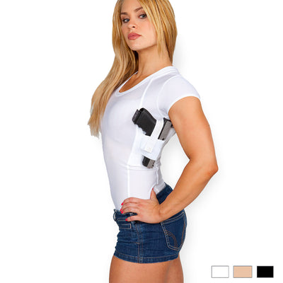 Womens Concealed Carry Scoop Neck Tee