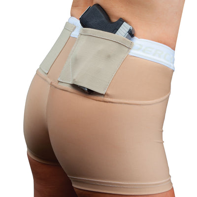 "Womens Concealed Carry 2"" Shorts"