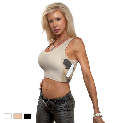 Womens Concealed Carry Midriff Tank