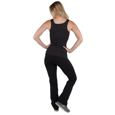 Womens Concealed Carry Bootcut Leggings