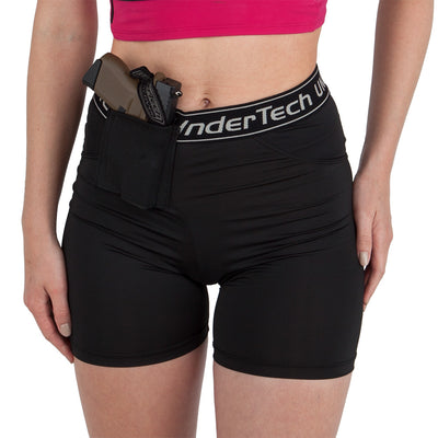 Womens Concealed Carry Front Carry Shorts