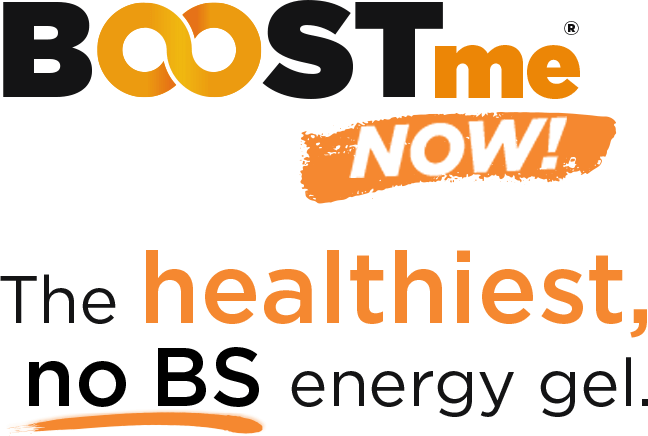 BOOSTme NOW! The healthiest, no BS energy gel