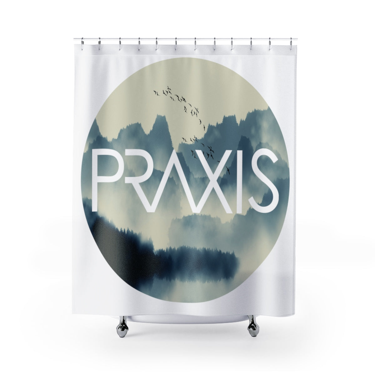 ... In Your Element | Circle | Fly Above The Clouds | Shower Curtain