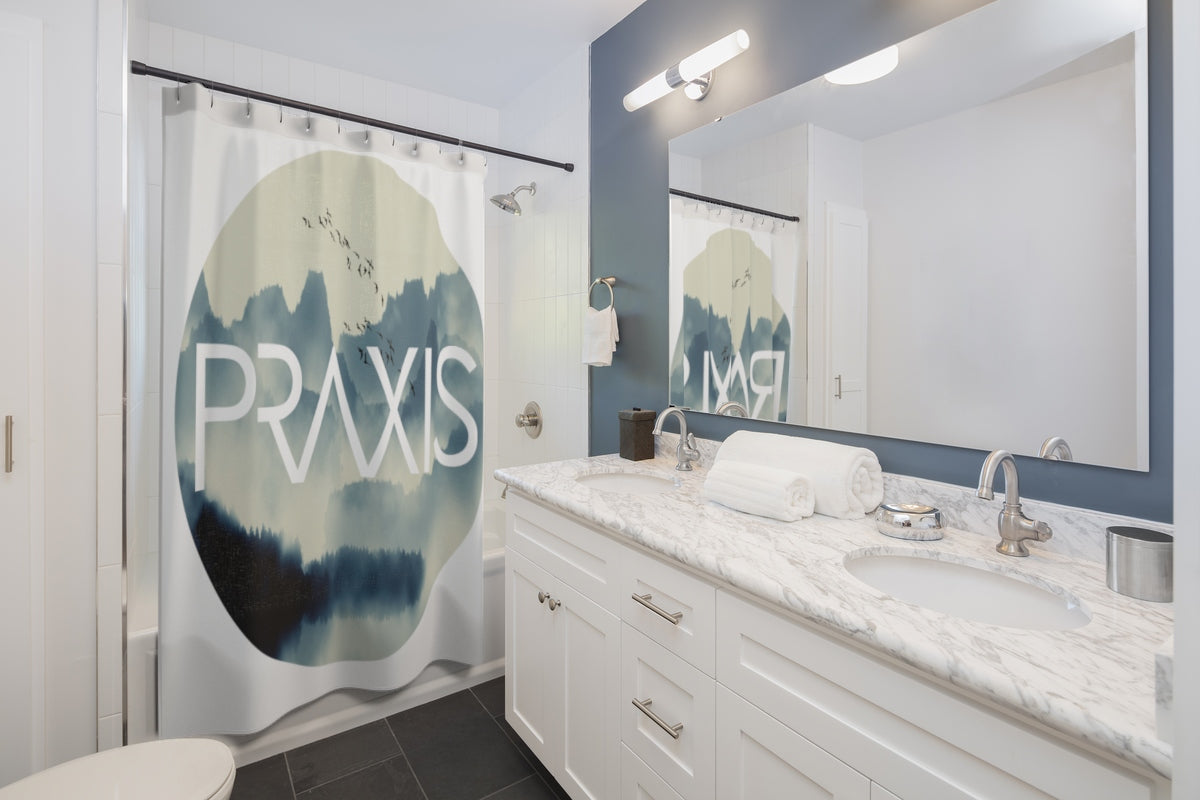 In Your Element | Circle | Fly Above The Clouds | Shower Curtain ...