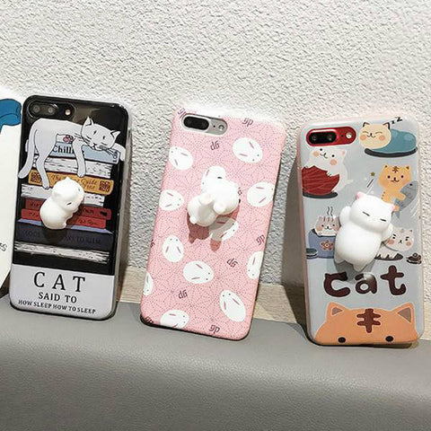 Kawaii Squishy Case For Samsung