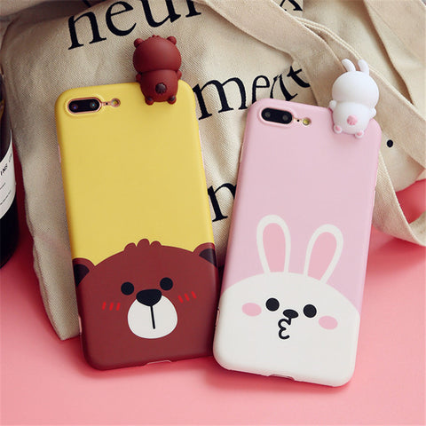"LINE Friends ""Brown & Cony"" Case for iPhone"