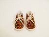 "PIJONVOL - ""DOMITILLE BBDN ORANGE"" BABY SLIPPERS"