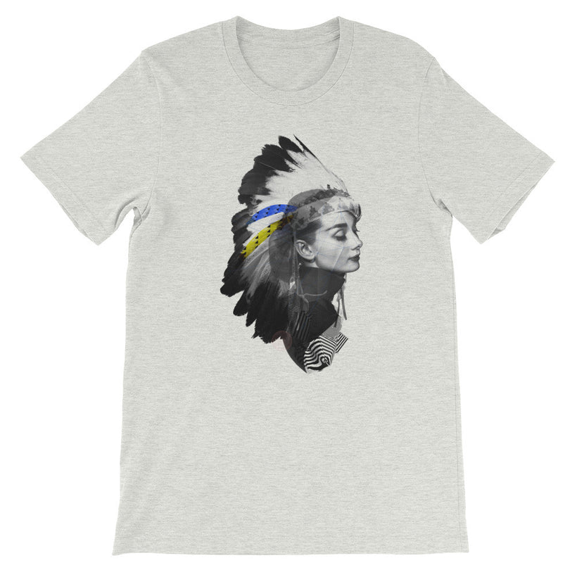 """AUDREY HEADDRESS"" Men's / Unisex short sleeve t-shirt"