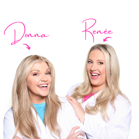 Donna and Renee co founders Triumph monthly cycle supplement Vitropics