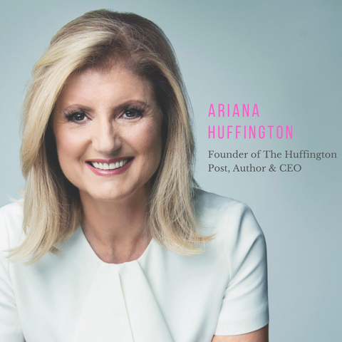 Ariana Huffington Morning Routine