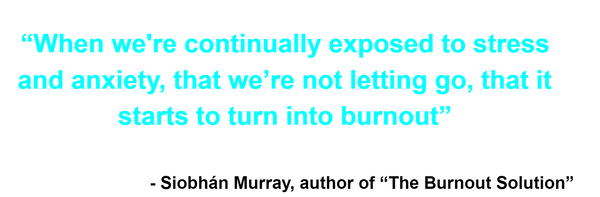 The Burnout Solution Siobhan Murray Quote