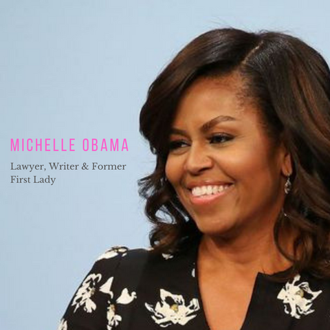 Michelle Obama morning routine