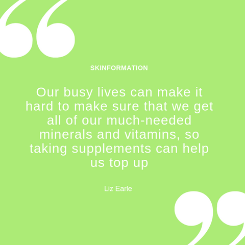 Liz Earle Skincare Quote