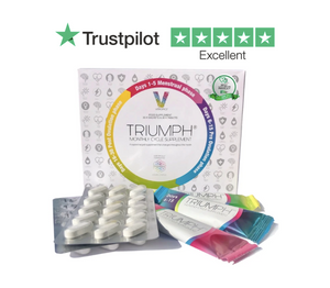 Triumph Menstrual Cycle Vitamin Supplement For Women - 1 Month Programme - VITROPICS_TRIUMPH_MONTHLY_MENSTURAL_CYCLE_SUPPLEMENT_PMS_PERIOD