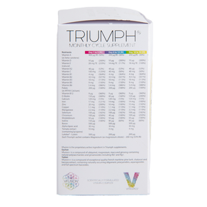 Triumph Monthly Cycle For Women