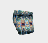Magical Mushroom Pattern Yoga Shorts