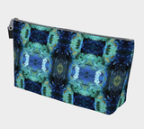 Abstract Ocean Make-Up Bag