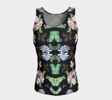 Butterfly and Fern Pattern Tank