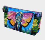 Butterfly Elephant Make-Up Bag