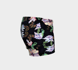 Butterfly and Fern Pattern Shorts